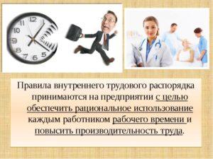 Правила трудовой дисциплины на предприятии