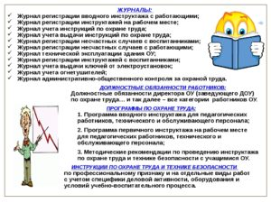Правила по охране труда работающих инвалидов