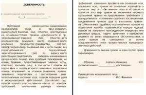Доверенность на получение документов у судебных приставов