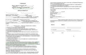 Передаточный акт при реорганизации в форме присоединения