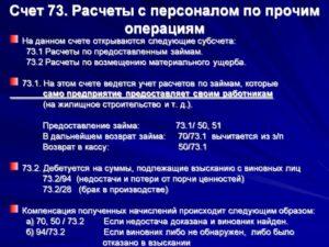 Особенности учета расчетов с персоналом по прочим операциям