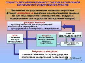 Риск-ориентированный подход при организации госконтроля