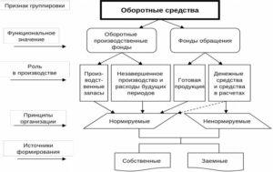 Состав и функции оборотных активов