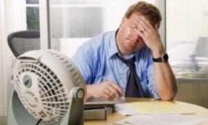 На работе слишком жарко? Можно не работать!