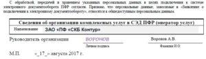 Заявление в ПФР на подключение электронной отчетности
