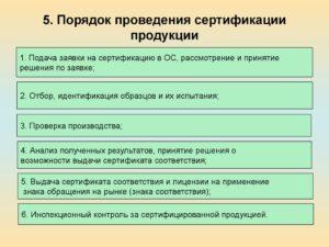 Как проводится учет расходов на сертификацию продукции