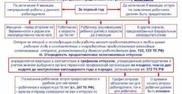 Какие виды отпусков указаны в Трудовом кодексе