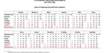 Производственный календарь Республики Башкортостан на 2021 год