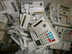 Проведение утилизации кассовых аппаратов